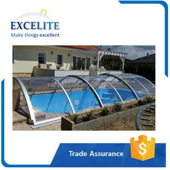 Outdoor Above Ground Swimming Retractable Pool Covers