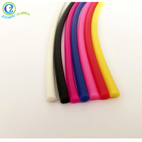 Hot Sell Extruded Colorful Solid Round Silicone Rubber Cord