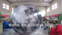 inflatable planet/inflatable moon hanging giant decorations moon