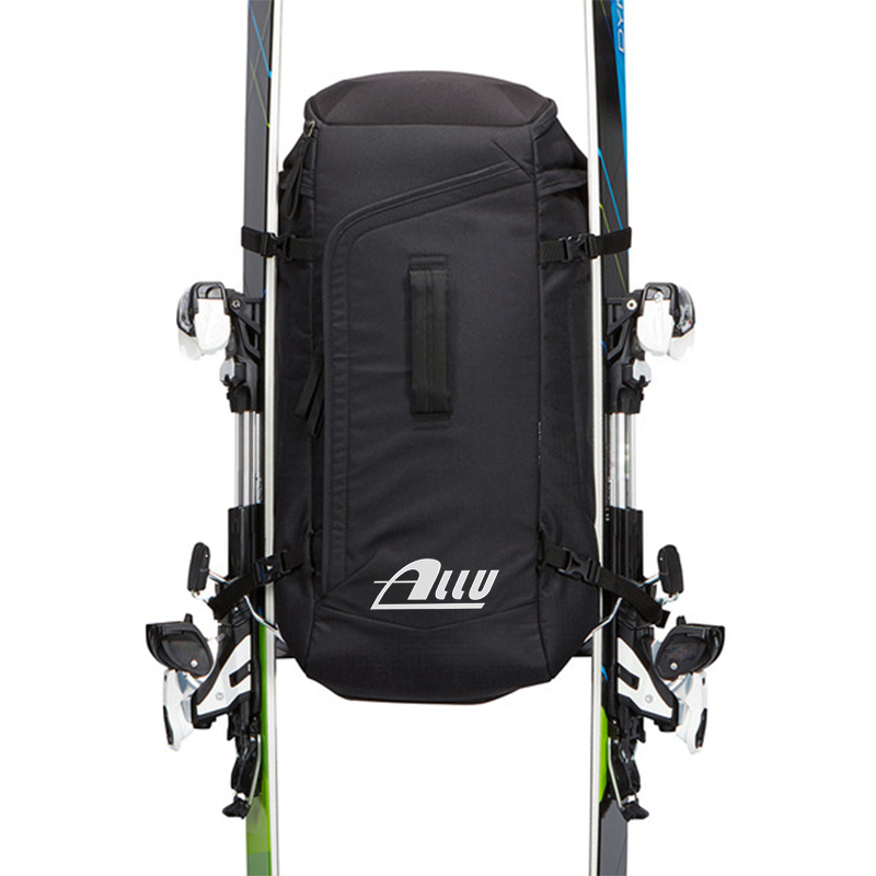 The Newest Style Custom Combo Ski Boot Bag and Ski Bag for 1 Pair of Ski, Poles, Boots, Helmet, and Apparel