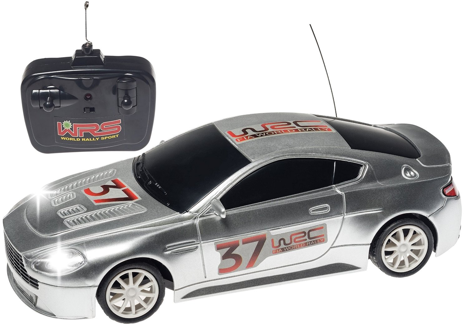 Top Race® 4ch Rc Remote Control Racing Car Aston Martin with Head Lights Lights