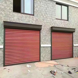 electric aluminum roller shutter garage door