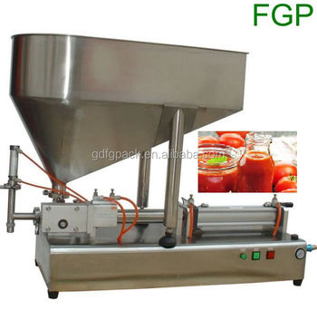 Hot Sale Semi-automaic Jar/bottle/can Tomato Paste/sauce Filling Machine  Bottling Machine Filler Machine - Buy Sauce Filling Machine,Semi Automatic