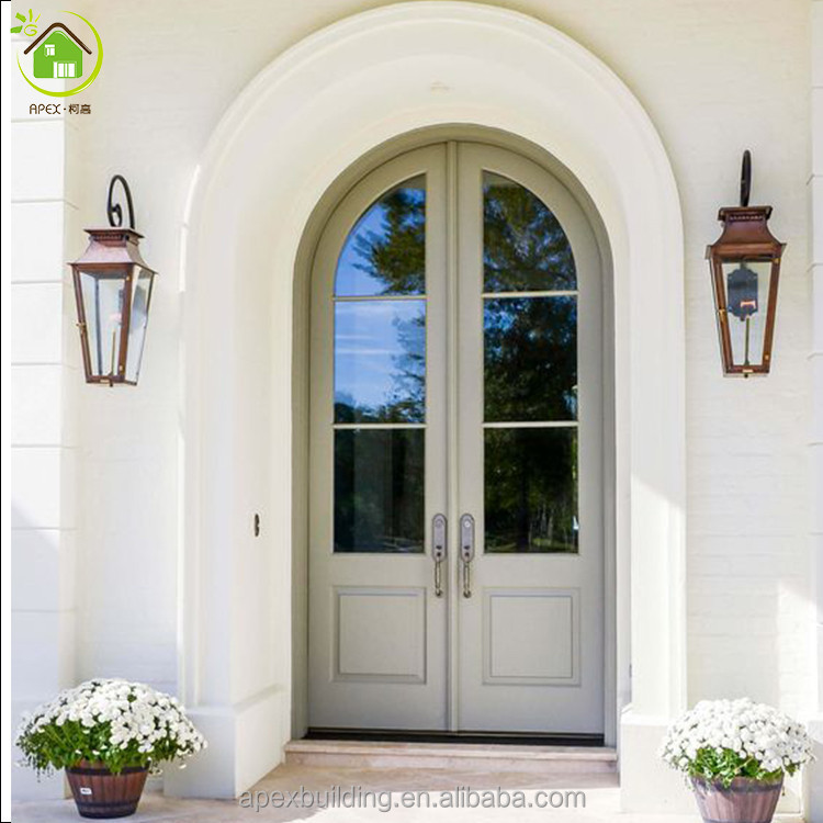 Arched Double Entry Doors Wood Doors Buy Double Entry Wood Doors