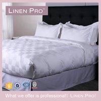 Queen, King, Twin 4 Piece Hotel Grid Bed Sheet Sets