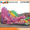 Hot Inflatable Dragon Dry Slide for Kids sale