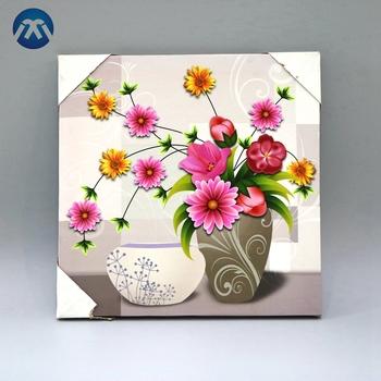 Beautiful Flower Designs Fabric Wall