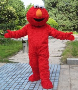 HI Hot Sale Animal Mascot,Customized Elmo Mascot Costume For Sale