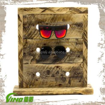 6b2c941528 Custom Wooden Sunglasses Stand Display