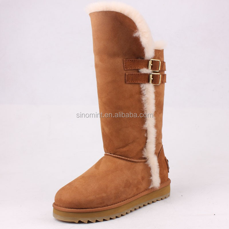 2015 winter western women riding boots made in China