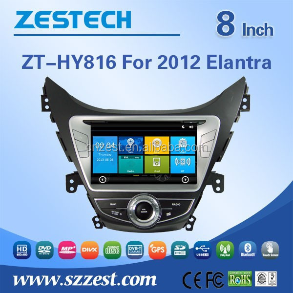 Car DVD/GPS manufacturer in China player Video 3G car dvd for Hyundai Elantra 2012 car dvd with gps