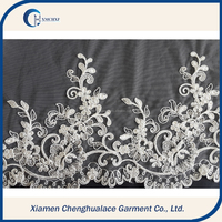 Wholesale low price high quality saree embroidery lace