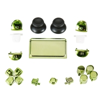 high quality chrome full set button JDM 030 for ps4 slim controller