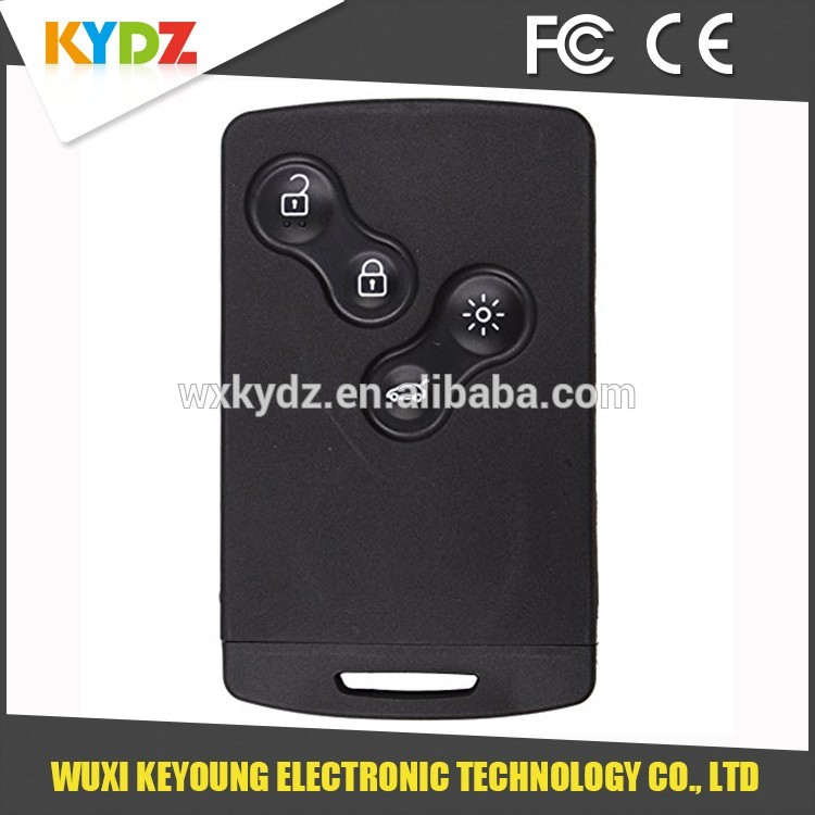 2009-2014 PCF7952 434MHz 4 button Factory price big car key for Megane lll