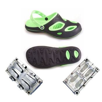 Hot Sell EVA Injection Mould 2 Color Kids Crocs Mold