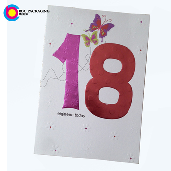 Custom Made Happy Birthday Bulk Greeting Card