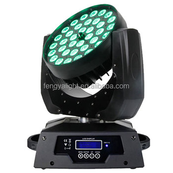 quality design f0085 17375 36x18w 6 IN 1 zoom led moving head stage lighting rgbwa uv led washer bar  light, View led moving head washer light, Fengya Product Details from ...