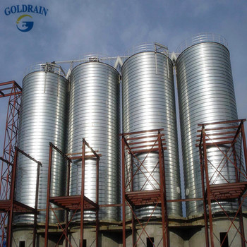 High quality stainless rice silo price