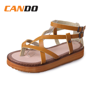 Wholesale women thick outsole summer cool nice design sandals