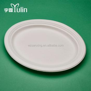 Disposable Biodegradable white square wholesale dinner plates & Disposable Biodegradable White Square Wholesale Dinner Plates - Buy ...