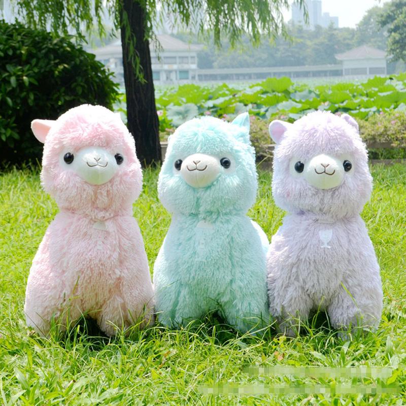 Aliexpress Com Buy Soft 35cm 45cm Peluche Alpacasso Alpaca Plush