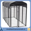 fully assembled Galvanized Dog Kennel