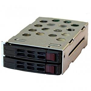 SUPERMICRO PCK#2XMCP-220-82609-0N / (2 PACK) Supermicro MCP-220-82609-0N 2x 2.5 Hard Disk Drive Kit for 826B Series Chassis (Cables & Backplane Included)