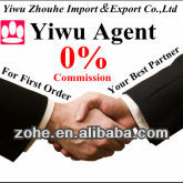 ZHOUHE ONLY 1% Commission yiwu buying agent