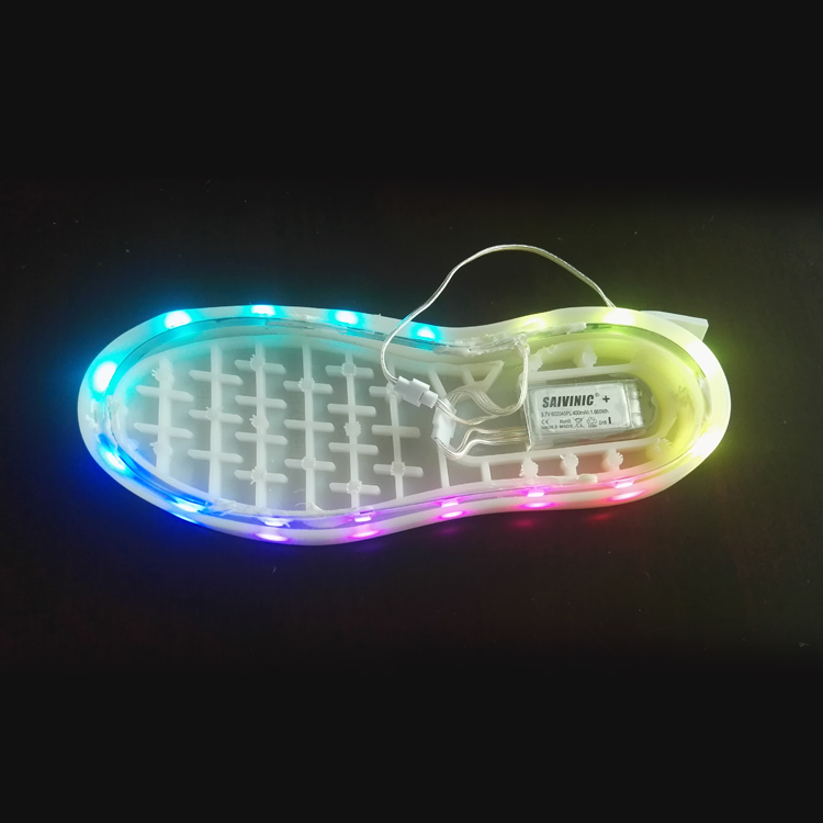 color changing light up shoes