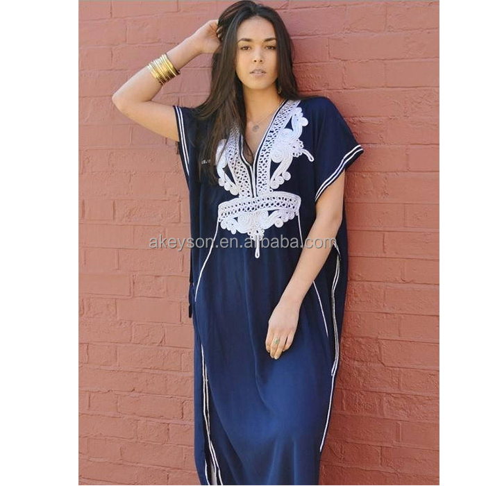 Wholesale Monogram Personalized Resort Caftan Kaftan