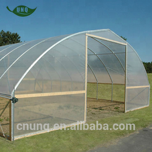 UNQ large-scale plastic commercial and agricultural greenhouses for sale