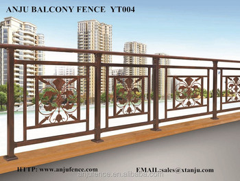 China Balcony Railing Designs With Good Quality Yt004 Railings Design Product On