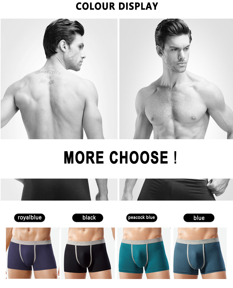 Best sale free sample comfortable cotton knitted mens underwear