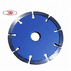 Thickness customized tuck point diamond blade saw for cutting wall concrete