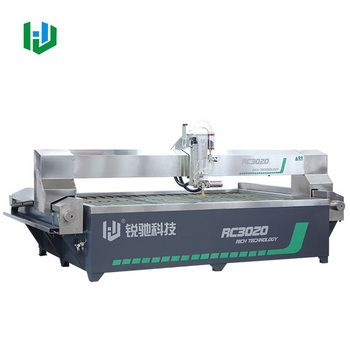 5 Axis Cnc Waterjet Machine For Stone Marble Granite With High Pressure Pump Buy 5 Axis Waterjet5 Axis Cnc Water Jet5 Axis Waterjet Cutting Machine