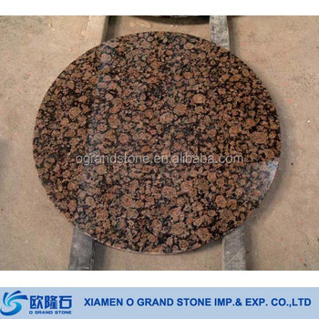 Baltic Brown Granite Stone Tables Round Table Top Lab Product On