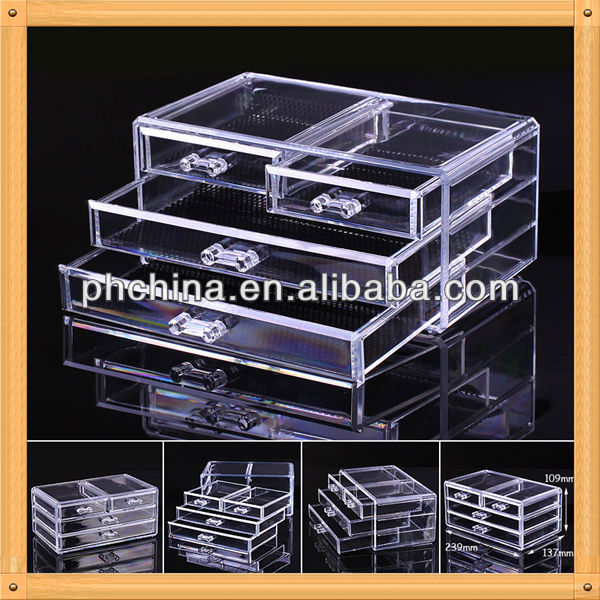 An-b766 european design factory sell luxury high transparent perfume display case/perfume display cabinet/perfume stand