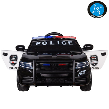 Best Choice Products police Style 12V Ride On Car W/ Remote Control, 2 Speeds, LED Lights