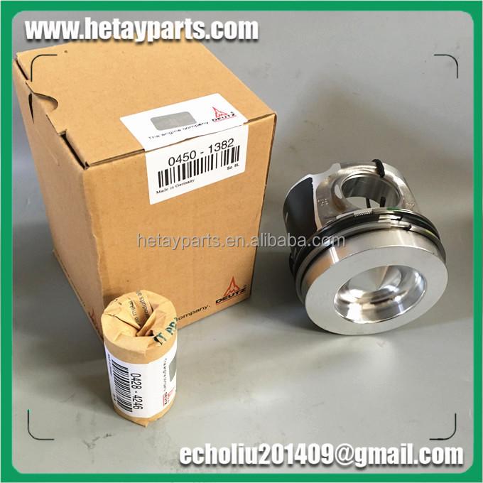 Deutz 20890422 частей EC210B D6E поршневой двигатель