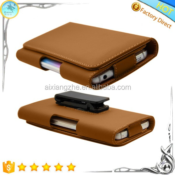 Leather Clip Case For Nokia 515 Dual Sim Protective Cover,Back ...