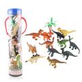 12PCS Original Jurassic Park Dinosaur Model Toys Simulation DIY Children Dinsaur Action Figures Toy Baby Nice