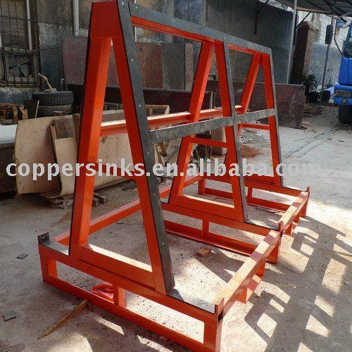 Steel Stop A-frame - Buy Stop A-frame,A-frame For Slab Storage ...