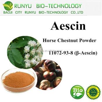 Anti edema horse chestnut Aescin,escin powder 20%-98%
