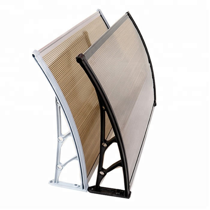 Cheap Durable Polycarbonate Shed Entry Door Canopy Rain Shelter - Buy  Polycarbonate Plastic Raw Material,Shed Entry Door Canopy Rain Shelter,Sun  Rain