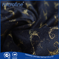 Newest fashion Gold Stamping warp knitting textile Fabric For Upholstery