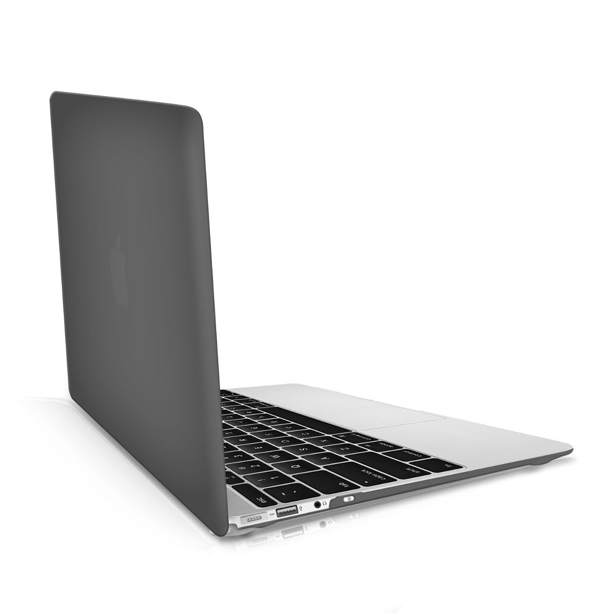 "kwmobile Handy and sturdy rubberised HARD CASE for the > Apple MacBook Air 13"" (versions from mid 2011) < in black"