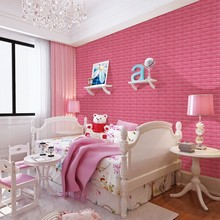 2016 NEW style 3D brick wall paper Home Decor design