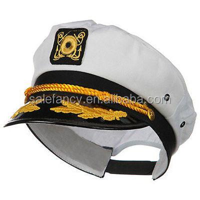fa419ad162c With white color unique model men military army office uniform captain  sailor navy hats captain hat QHAT-8613
