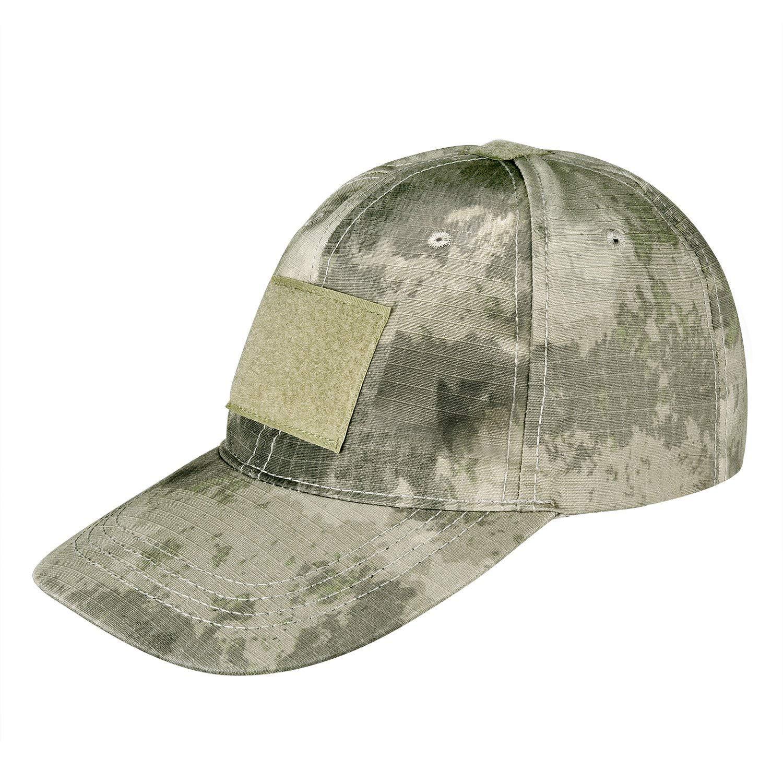 2300049ad2964 Get Quotations · CVLIFE Tactical Cap Plain Hat Operator Patch Adjustable  Strap