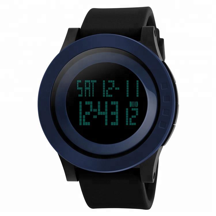 skmei 1142 China brand chrono men and women sport hands watch digital free shipping watches, Black;green;purple;red
